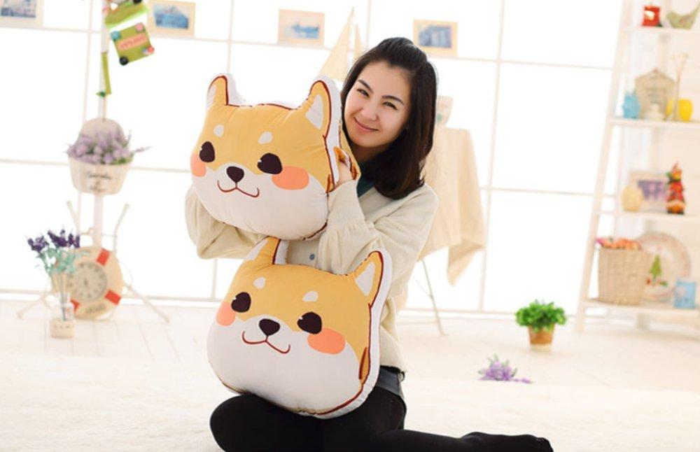 Marshel Japanese decorative pillow Shibainu Dog Cute Kawaii Cushion Sofa Bed