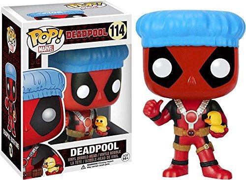 Funko Pop! Marvel Deadpool para bañarse, con patito de hule