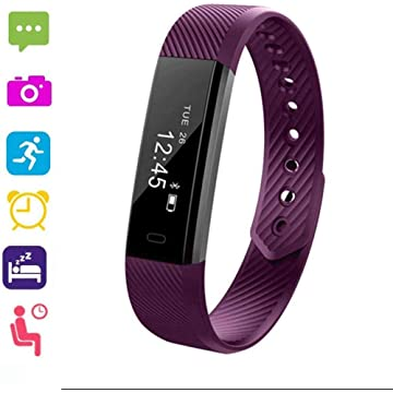 UpBeauty Fitness Activity Tracker Smart Band Waterproof Digital Display Buckle Health Wristband Smart Watches for iOS Android Phone