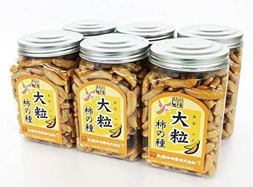 ポット 大粒柿の種 195g ×6個 大橋珍味堂 /常備 お菓子 おやつ おつまみ まとめ買い