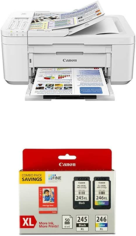Canon NEW! Ink Not Included PIXMA TS5120 Wireless All-In-One Printer White
