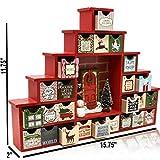Christmas Wooden Advent Calendar Countdown