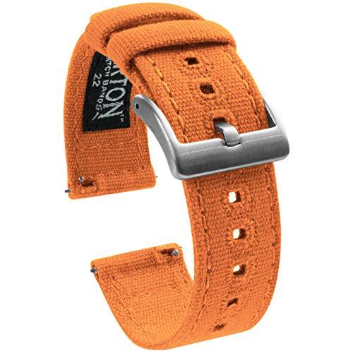 Orange Leather Strap - 4