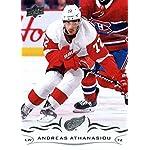 1b775a97e 2018-19 Upper Deck  316 Andreas Athanasiou Detroit Red Wings Hockey Card