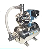 BurCam 506547SS  SW Stainless Steel Jet Pump & Tank, Ml25H 3/4 hp, 115V/230V