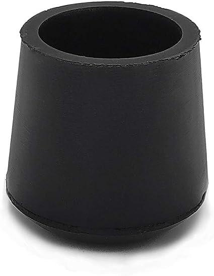 Flyshop 1 Inches 25mm Chair Leg Caps Non Slip Rubber Leg Tips Chair Leg Floor Protectors Round Furniture Table Covers 16pcs Amazon Com