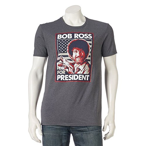 mens-bob-ross-for-president-tee-t-shirt-extra-large