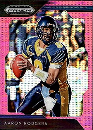 Verzamelkaarten, ruilkaarten 2019 Prizm Draft Picks Aaron Rodgers #2 Cal Golden Bears Packers Base Card