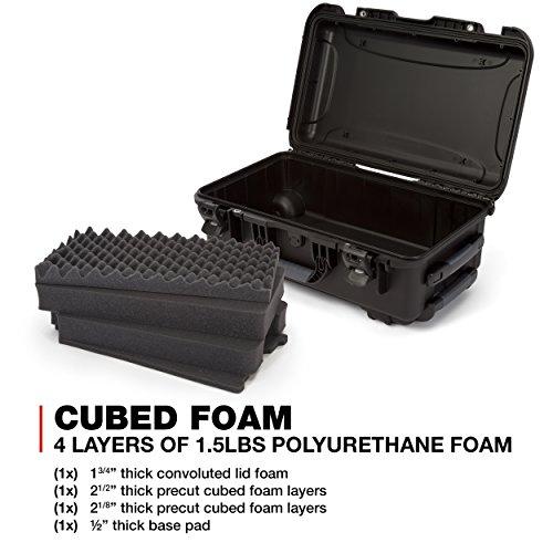Nanuk 935 Waterproof Carry-On Hard Case with Wheels and Foam Insert - Black by Nanuk (Image #7)