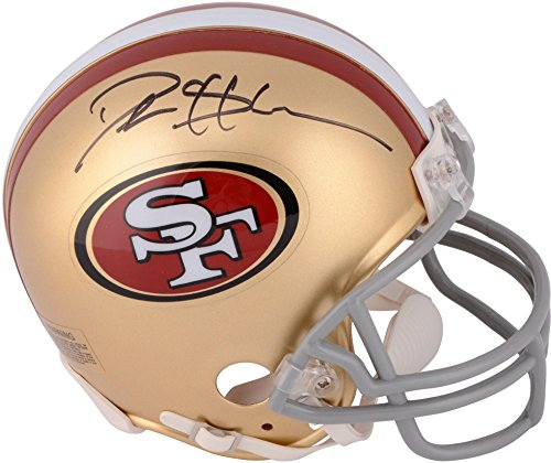 Deion Sanders San Francisco 49ers Autographed Mini Helmet - Fanatics Authentic Certified - Autographed NFL Mini Helmets