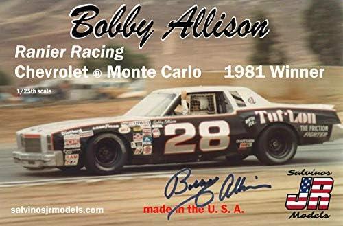 サルビノス J・R モデル 1/25 NASCAR 1981優勝車 シボレー モンテカルロ ボビー・アリソン レイニアーレーシン