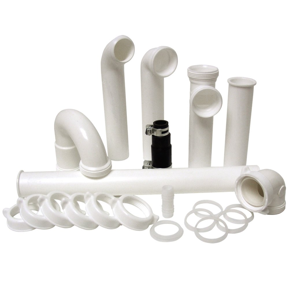 Kitchen Sink Waste Kit: Garbage Disposal Installation Kit Set DIY Water Sink Drain