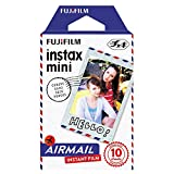 Fujifilm Instax Airmail Film Pack Instant Print Mini Cameras 3 Pack 30 Sheets