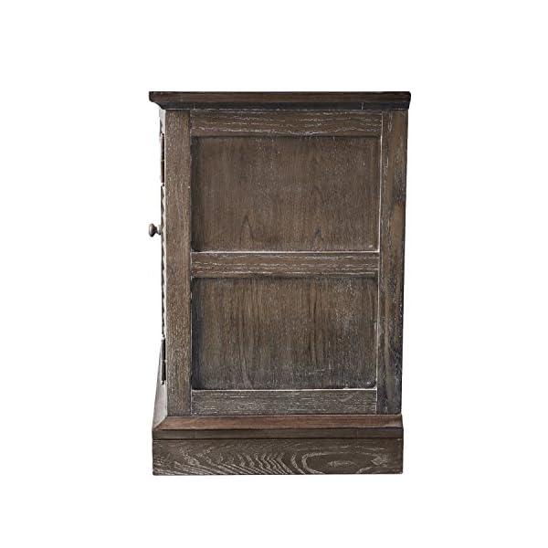 SEI Furniture Southern Enterprises, Inc. Jesup TV/Media Console No Tool Assembly - Burnt Oak