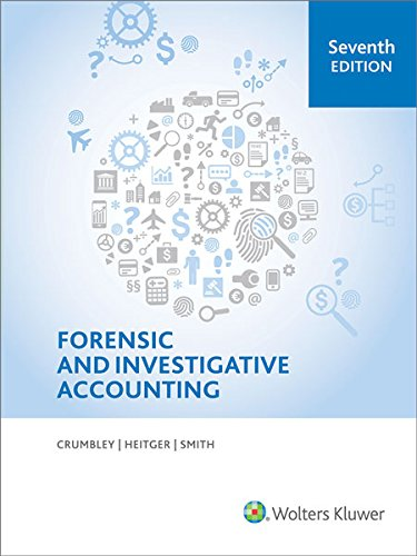 Forensic and Investigative Accounting 7th Edition