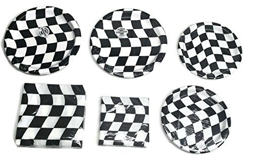 Racing Checkard Flag Party Bundle 9