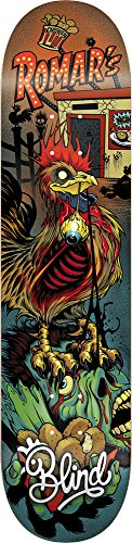 見出しスペイン語子供時代Blind 10011799 Zombie Kevin Romar Skateboard Deck, Size 8 by Blind