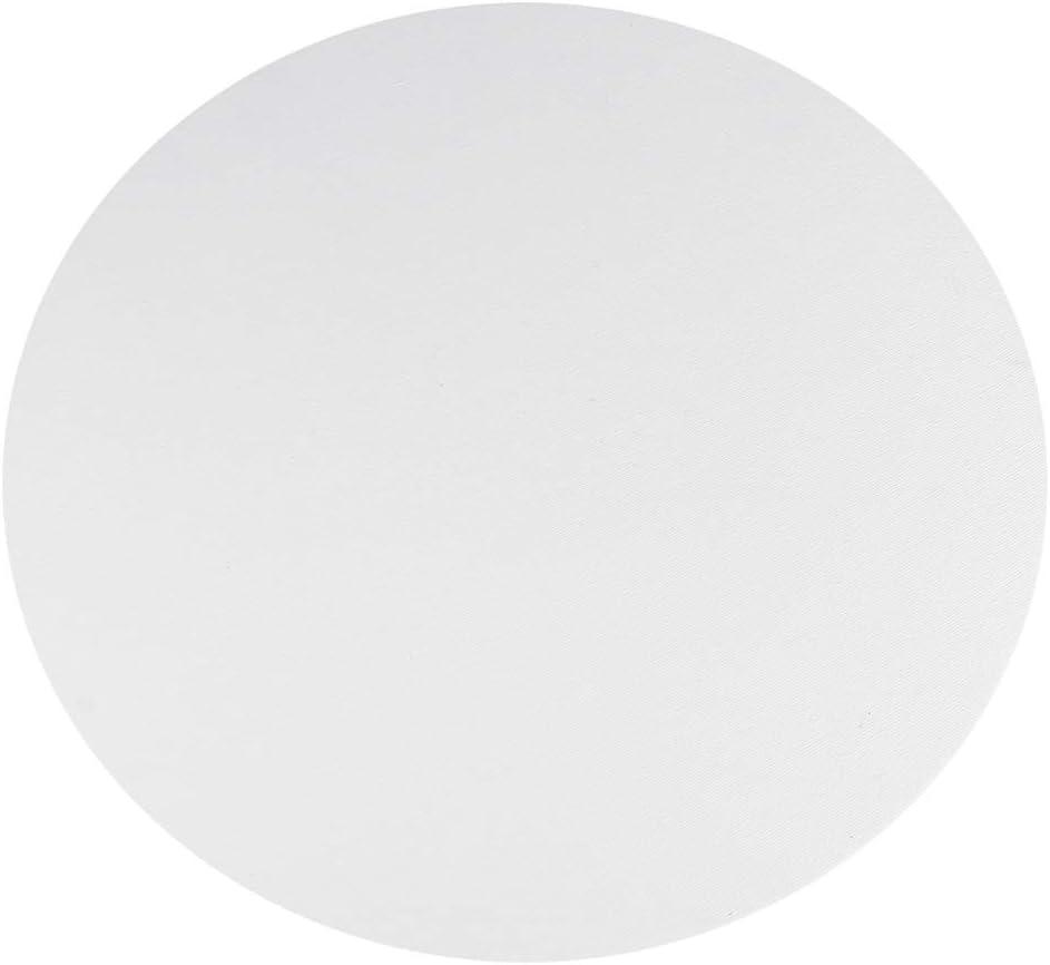 Healifty 8Pcs Panneaux de Panneau de Toile Ronds pour La Peinture Dessin D/écorations pour La Maison 10Cm