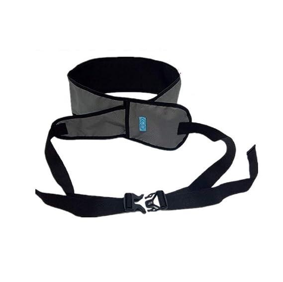 Banda De Asiento Para Silla De Ruedas Con Restricción Para El Paciente - Cinturones De Sujeción Médica Ajustables Para Ancianos, Discapacitados,Gray: ...
