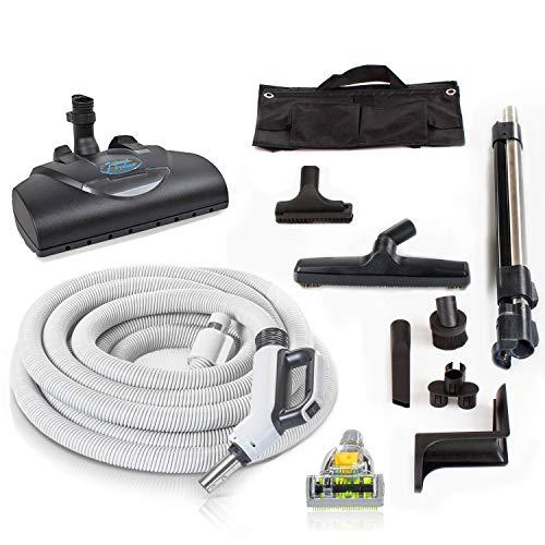 Prolux 35 ft Universal Central Vacuum Hose Kit Powerhead