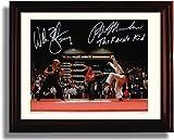 Framed Ralph Machio and William Zabka Autograph Replica Print - Karate Kid
