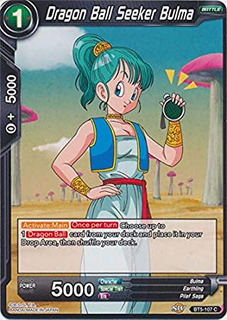 bulma looking for dragon ball bt5-107 foil c//vf Dragon ball super card game