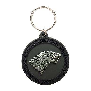 Juego de Tronos - Llavero con insignia de la casa Stark ...