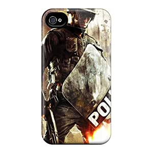 CJaTX7416myYVr Tpu Phone Case With Fashionable Look For Iphone 4/4s - Urban Chaos