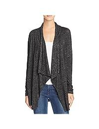 Velvet Womens Drapey Slub Knit Cardigan Sweater