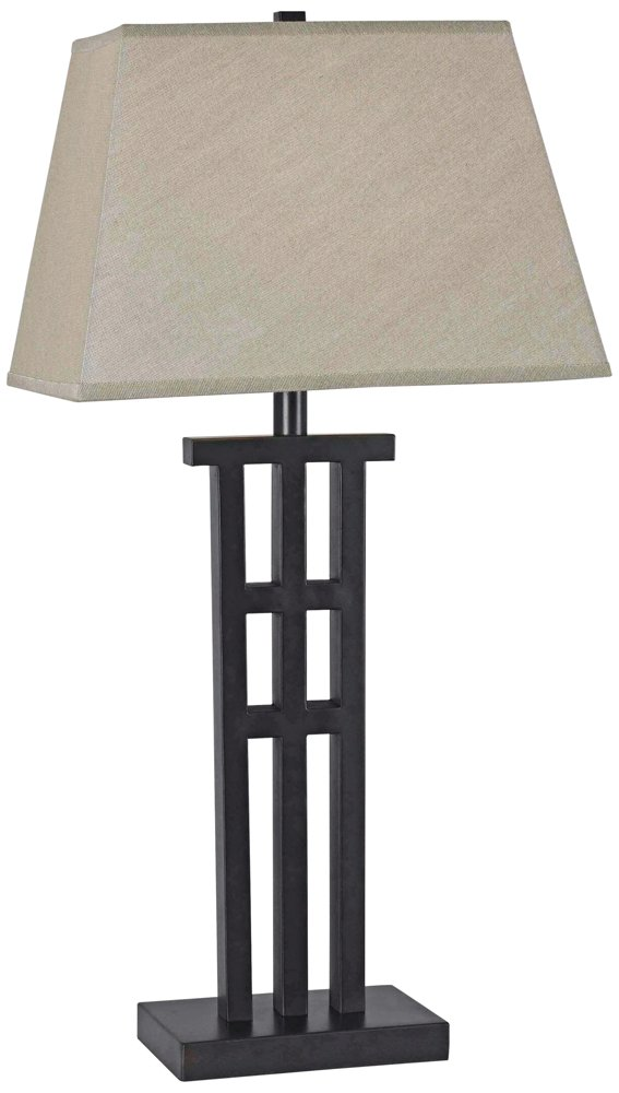 Kenroy Home 32158BRZ McIntosh Floor Lamp, 58 Inch Height, 17.5 Inch Width, 12 Inch Extension Bronze