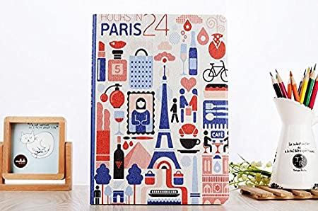 KolorFish Printed PU Leather Flip Case Cover for Apple iPad 9.7 inch 2018/2017 5th 6th Generation Model A1822 A1823 A1893 A1954  City Paris  Bags,Case