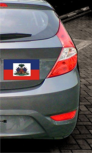 Amazon.com: INDIGOS UG - Sticker / Bumper / JDM / Die cut - Flag / Banner A-LS100G Haiti - Haiti 10 cm colored - flat: Automotive