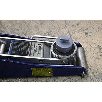 TMB Motorsports 2 Pack Universal for Chevrolet Corvette Jack Pad Adapter Frame Rail Protector: Automotive