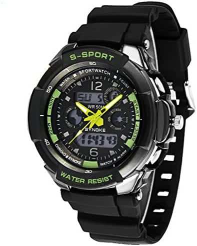 Boys Youth Girls Outdoor Summer Digital-Analog Water Resistant Sports Watches Boys Watches Swimming Watch
