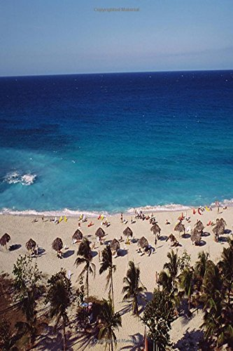 Journal Beach Resort Background: (Notebook, Diary, Blank Book) (journal diary blank book,travel trip vacation,tropical ocean sea water, exotic destination beach,wedding honeymoon island)