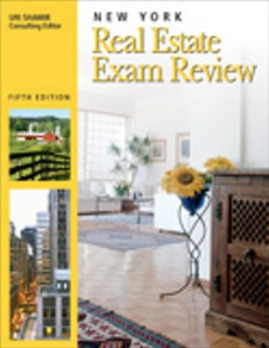 new york real estate exam review - 6