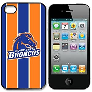 NCAA Boise State Broncos Iphone 4 and 4s Case Cover by runtopwell