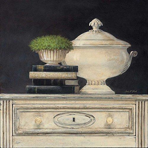 "Cream Tureen by Arnie Fisk 15"" x 15"" Giclee Canvas Art Print"