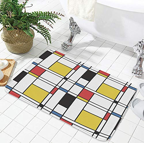 """Ultra-Soft Mat,Abstract Home Decor,for Kitchen Living Room,19.69"""" x31.5"""