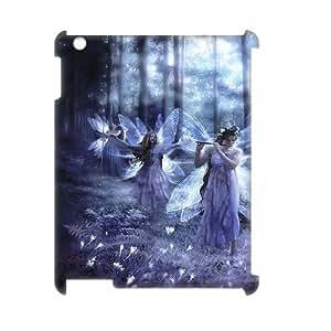 DIYCASETORE Cover Custom Case Night Fairy 3D Bumper Plastic customized case For IPad 2,3,4