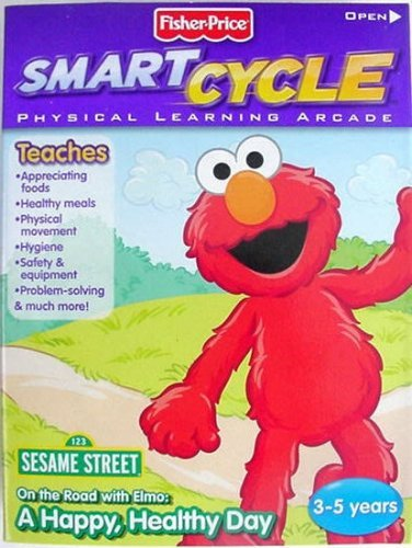 Fisher-Price Smart Cycle [Old Version] Elmo Software Cartridge