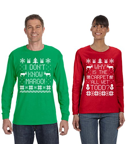 SignatureTshirts Couple's Long Sleeve Tee Why is The