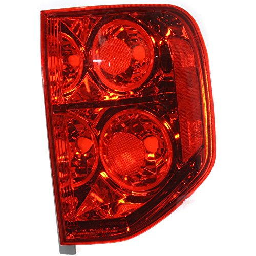 Honda Pilot Tail Light (Evan-Fischer EVA15672041630 Tail Light for Honda Pilot 03-05 Assembly Right Side)