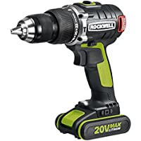 Rockwell Rk2853K2 Li-Ion Brushless Hammer Drill 20V Overview