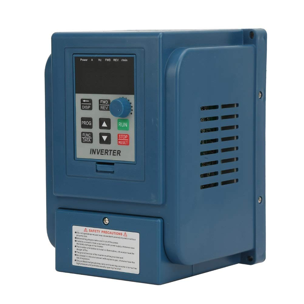 Variable Frequency Drive, Maxmarttv 1pc 380VAC 6A Variable Frequency Drive VFD Speed Controller For 3-phase 2.2kW AC Motor by Maxmartt