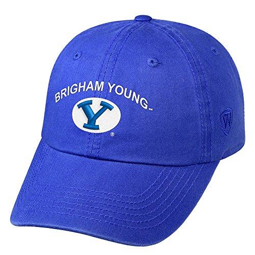 fab23097 BYU Cougars Adjustable Hat, BYU Adjustable Cap, Adjustable BYU Hat