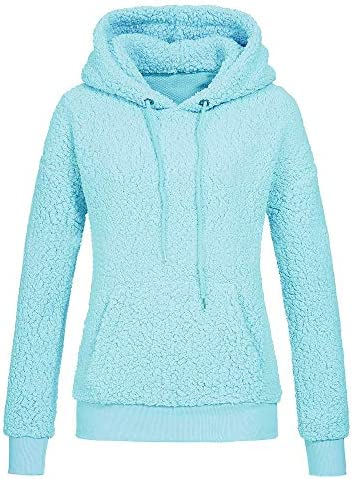XL,Gray Womens Tops,Sweaters for Women ClearanceWarm Fluffy Solid Color Zip Up Sweatshirt Pullovers Outwear