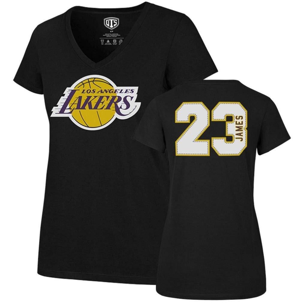 OTS mens Player Rival Tee NBA Large LeBron James Jet Black Los Angeles Lakers