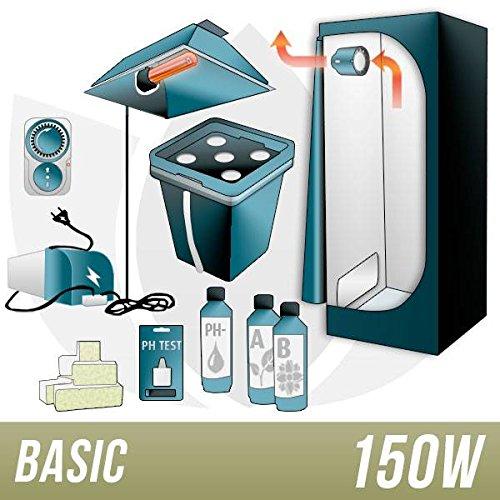 Kit Aeroponica 150w + Grow Box – BASIC