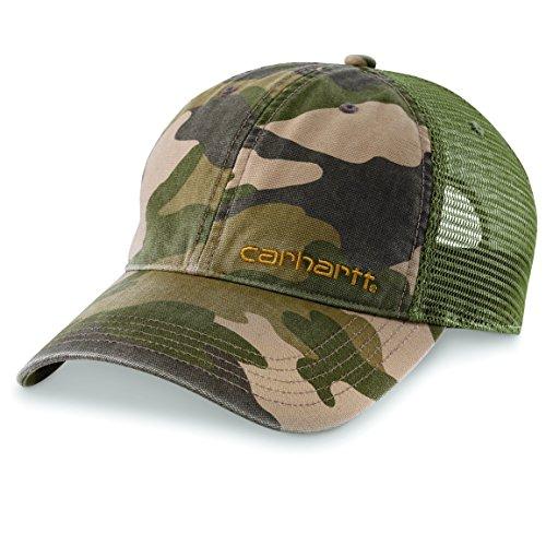 Cap Baseball Mesh Visor Kaki Adjustable Mens Curved Back Carhartt Brandt qwxTxA8